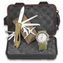 MARTINEZ ALBAINOX rinkinys: laikrodis ir daugiafunkcinis peilis