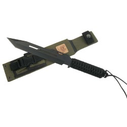 Linton SEAL tactical black taktinis peilis