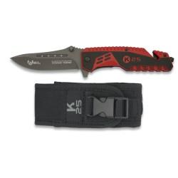 K25 ATTRACTION 2 gelbėtojų peilis su dėklu