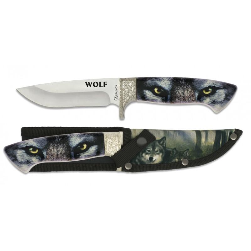 ALBAINOX WOLF 3D Kišeninis Peilis