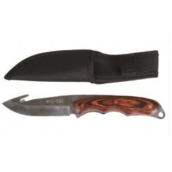 Fiksuotas peilis medžiotojams AUTO M.HOLZGRIFF su dėklu