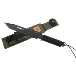 Linton SEAL tactical black taktinis peilis