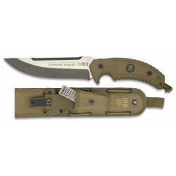 RUI. 16.5 cm. titanu dengtas peilis, KHAKI