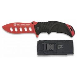 K25 treniruočių peilis su dėklu