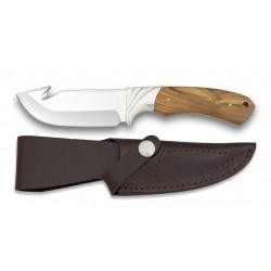 Fiksuotas peilis ALBAINOX su alyvmedžio rankena