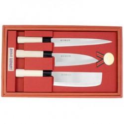 Japoniškų virtuvinių peilių rinkinys
