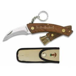 ALBAINOX SETERA grybautojų peilis su šepetėliu ir dėklu