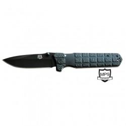 MP9 Black Granade vienos rankos peilis